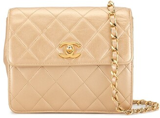 Chanel Pre-Owned 1992 diamond quilted crossbody bag