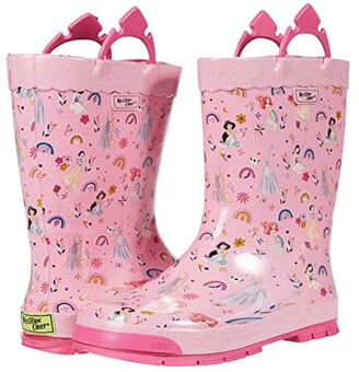 Western Chief Princess Flower Child Boot Rain Boots (Toddler/Little Kid/Big Kid) (Pink) Girls Shoes