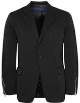 Junya Watanabe Black Slim-fit Twill Blazer