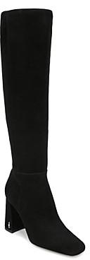 Sam Edelman Women's Clarem Square Toe High Heel Tall Boots