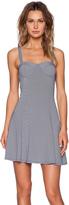 MinkPink Stripe Bustier Dress