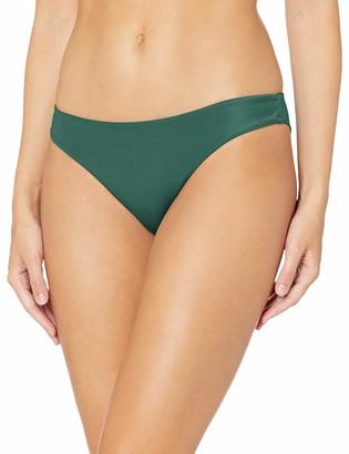 RVCA Junior's Solid Cheeky Bikini Bottom