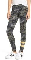 Sundry Women's Foil Stripe Yoga Pants