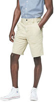 Aeropostale Mens Cape Juby Solid Surplus Shorts Brown