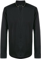 Les Hommes studded collar shirt - men - Cotton/Spandex/Elastane - 48