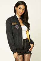 Forever 21 Air Force Patch Bomber Jacket
