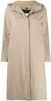 MACKINTOSH CHRYSTON Fawn RAINTEC Cotton Hooded Coat | LM-1019FD