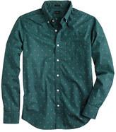 J.Crew Slim shirt in douglas fir foulard