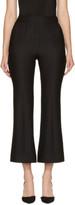 Erdem Black Eda Flared Trousers