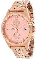 Marc Jacobs MBM3384 Women's Fergus Rose Gold Stainless Steel Chronograph Watch