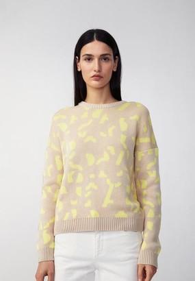 Armedangels Olessyaa Fragments Sweater - OLESSYAA FRAGMENTS / Small / knit/lime