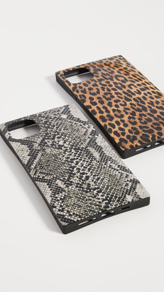 Idecoz 2 Piece Animal Print iPhone Case Bundle