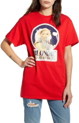 Junk Food Clothing Blondie Heart of Glass Cotton Tee
