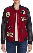 True Religion Varsity Patch Jacket