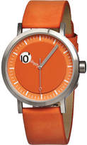 Simplify The 200 - Orange Suede/Orange Analog Watches