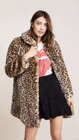 Alice + Olivia Kinsley Faux Fur Coat