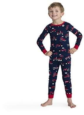 Hatley Boy's Organic Cotton Long Sleeve Printed Pyjama Set
