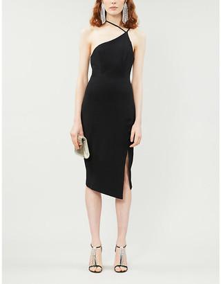 Lavish Alice Strappy side-split woven midi dress
