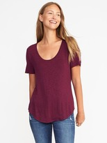 Old Navy Luxe Slub-Knit Tee for Women
