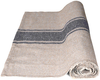 Handloom Table Runner - Natural/Gray - Farmhouse Pottery
