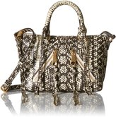 Rebecca Minkoff Micro Cremi Multi Moto Satchel Cross Body Bag