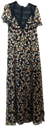 Giamba Multicolour Silk Dress for Women