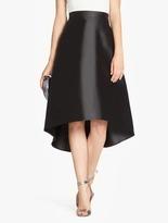 Halston Silk Twill Skirt