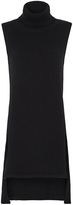 Oxford Grace Turtle Neck Knit Black X