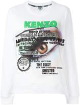 Kenzo Visage sweatshirt