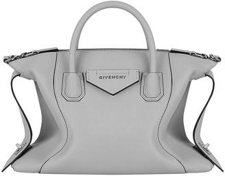 Givenchy Small Soft Antigona Bag in Pearl Grey | FWRD