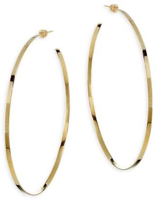 Jennifer Zeuner Jewelry Jennifer Yellow Vermeil Hoop Earrings