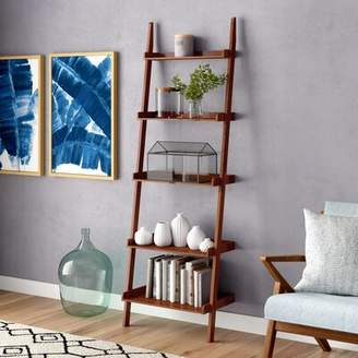 Three Posts Teen Nailsworth Ladder Bookcase Teen Color: Espresso