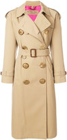 Burberry oversized button trench coat