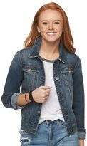 Mudd Juniors' Denim Jean Jacket