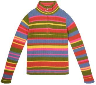 The Elder Statesman Funnel Neck Zip Sweater
