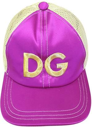 Dolce & Gabbana Purple Cloth Hats
