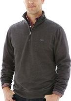 Dockers Quarter-Zip Fleece Pullover