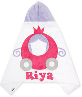 Boogie Baby The Carriage Hooded Towel, White/Pink