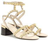 Burberry Philly Embellished Suede Sandals