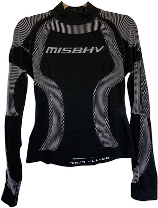 Misbhv Black Synthetic Tops