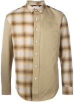 Palm Angels multi check print shirt - men - Polyester/Cotton - 52