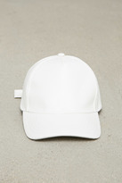 Forever 21 FOREVER 21+ Faux Leather Baseball Cap