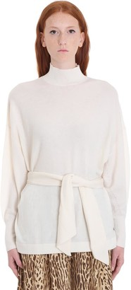 Zimmermann Knitwear In White Wool