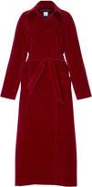 Martin Grant Long Velvet Coat