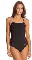 Speedo Fitness Mesh Contrast Thin Strap One Piece 8121921