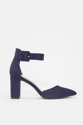 Coast Ankle Strap Pointed Toe Court Shoe