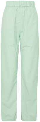 Kwaidan Editions Coated-poplin Straight-leg Pants
