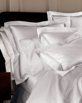 Sferra Queen Lace Sateen Duvet Cover