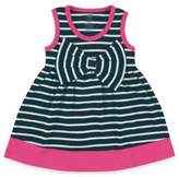 Baby Vision Hudson Baby Striped Sleeveless Dresses with Big Bows