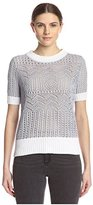 Shae Women's Open Knit Pullover